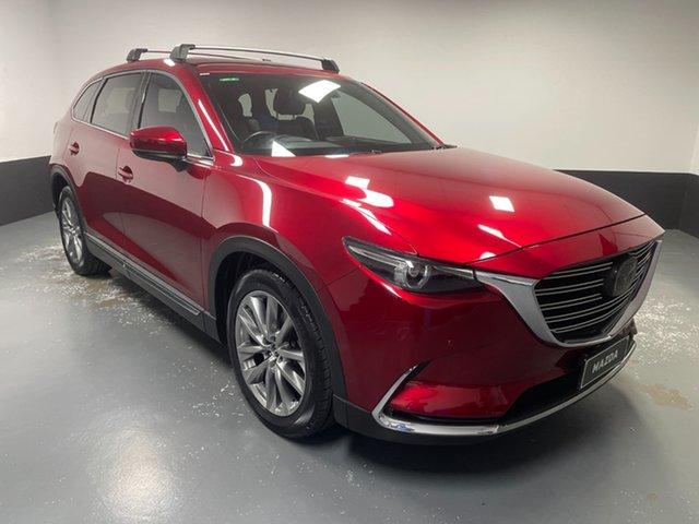 Used Mazda CX-9 TC Azami SKYACTIV-Drive Hamilton, 2018 Mazda CX-9 TC Azami SKYACTIV-Drive Red 6 Speed Sports Automatic Wagon