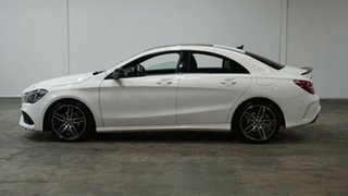 2018 Mercedes-Benz CLA-Class C117 809MY CLA200 DCT White 7 Speed Sports Automatic Dual Clutch Coupe