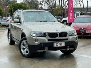 2008 BMW X3 E83 MY07 Steptronic Bronze 6 Speed Sports Automatic Wagon.