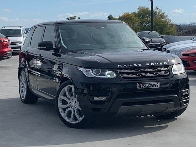 Used Land Rover Range Rover Sport L494 MY14 SE Liverpool, 2013 Land Rover Range Rover Sport L494 MY14 SE Black 8 Speed Sports Automatic Wagon