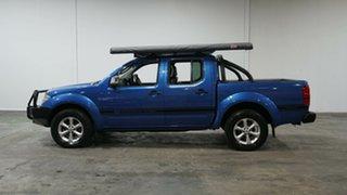 2012 Nissan Navara D40 S5 MY12 ST-X 550 Blue 7 Speed Sports Automatic Utility