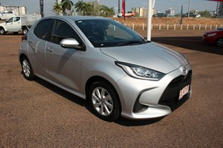 2021 Toyota Yaris Mxpa10R SX Silver Pearl 1 Speed Constant Variable Hatchback.