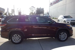 2015 Toyota Kluger GSU50R GXL 2WD Red 6 Speed Sports Automatic Wagon.