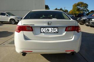 2012 Honda Accord Euro CU MY12 White 5 Speed Automatic Sedan