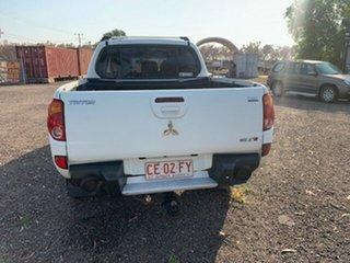 2007 Mitsubishi Triton GLX-R White 4 Speed Auto Active Select Dual Cab