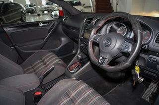 2011 Volkswagen Golf VI MY11 GTI DSG Red 6 Speed Sports Automatic Dual Clutch Hatchback.