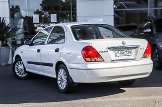 2004 Nissan Pulsar N16 S2 ST-L White 4 Speed Automatic Sedan.