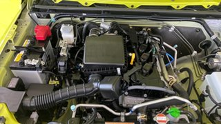 2021 Suzuki Jimny JB74 Yellow 4 Speed Automatic Hardtop