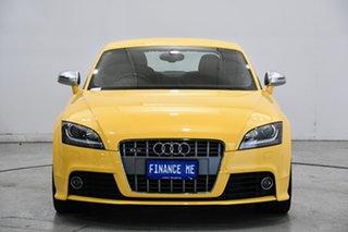 2010 Audi TTS 8J MY10 S Tronic Quattro Vegas Yellow 6 Speed Sports Automatic Dual Clutch Coupe.