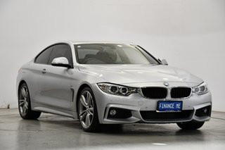2013 BMW 4 Series F32 428i M Sport Silver 8 Speed Sports Automatic Coupe