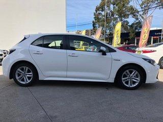 2019 Toyota Corolla Ascent Sport Hybrid White Constant Variable Hatchback.