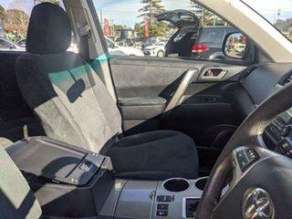 2012 Toyota Kluger GSU45R MY12 KX-R AWD Black 5 Speed Sports Automatic Wagon