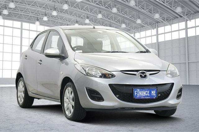 Used Mazda 2 DE10Y2 MY14 Neo Sport Victoria Park, 2014 Mazda 2 DE10Y2 MY14 Neo Sport Silver 5 Speed Manual Hatchback