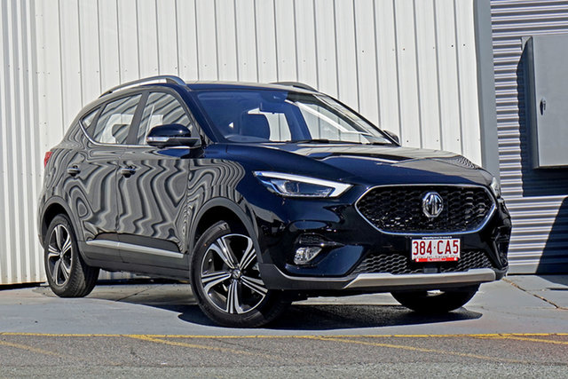 Demo MG ZST MY21 Vibe Springwood, 2021 MG ZST MY21 Vibe Black 8 Speed Constant Variable Wagon