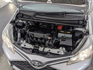2016 Toyota Yaris NCP130R Ascent Silver 4 Speed Automatic Hatchback