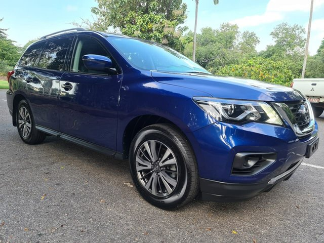 Used Nissan Pathfinder R52 Series II MY17 ST X-tronic 4WD Stuart Park, 2018 Nissan Pathfinder R52 Series II MY17 ST X-tronic 4WD Blue 1 Speed Constant Variable Wagon