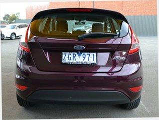 2012 Ford Fiesta WT LX PwrShift Purple 6 Speed Sports Automatic Dual Clutch Hatchback