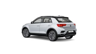 2021 Volkswagen T-ROC A1 MY21 110TSI Style Black 8 Speed Sports Automatic Wagon.