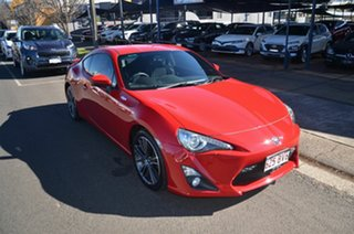 2013 Toyota 86 ZN6 GTS Red 6 Speed Auto Sequential Coupe.