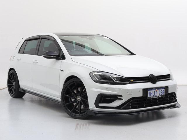 Used Volkswagen Golf AU MY20 R, 2019 Volkswagen Golf AU MY20 R White 7 Speed Auto Direct Shift Hatchback
