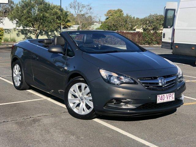 Used Holden Cascada CJ MY15.5 Chermside, 2015 Holden Cascada CJ MY15.5 Grey 6 Speed Sports Automatic Convertible