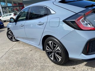 2019 Honda Civic 10th Gen MY19 VTi-LX Grey 1 Speed Constant Variable Hatchback.