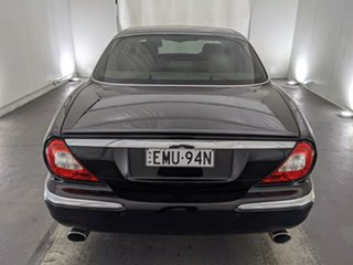 2005 Jaguar XJ8 X350 Black 6 Speed Automatic Sedan