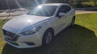 2017 Mazda 3 BN5276 Touring SKYACTIV-MT White 6 Speed Manual Sedan.