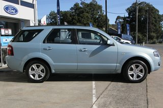 2009 Ford Territory SY MkII TX Blue 4 Speed Sports Automatic Wagon
