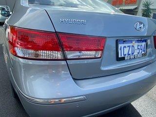 2008 Hyundai Sonata NF MY07 Elite Silver 4 Speed Automatic Sedan
