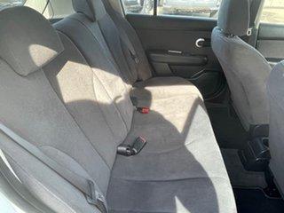 2010 Nissan Tiida C11 MY07 ST White 6 Speed Manual Hatchback