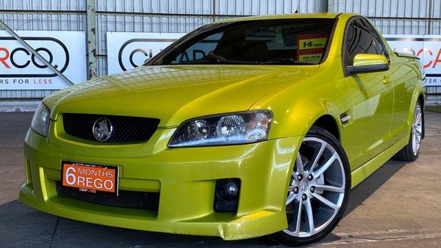 Used Holden Ute VE SV6 Rocklea, 2007 Holden Ute VE SV6 Green 6 Speed Manual Utility