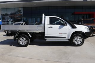 2013 Holden Colorado RG MY13 DX White 5 Speed Manual Cab Chassis.