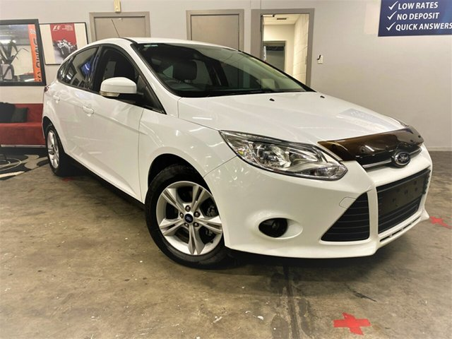 Used Ford Focus LW MkII Ambiente PwrShift Ashmore, 2014 Ford Focus LW MkII Ambiente PwrShift White 6 Speed Sports Automatic Dual Clutch Hatchback