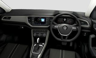 2021 Volkswagen T-ROC A1 MY21 110TSI Style Black 8 Speed Sports Automatic Wagon