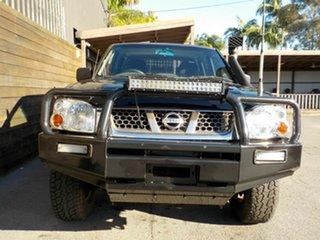 2003 Nissan Navara D22 MY2003 ST-R Black 5 Speed Manual Utility.