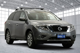 2017 Nissan Pathfinder R52 Series II MY17 ST X-tronic 4WD Grey 1 Speed Constant Variable Wagon.
