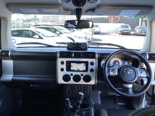 2016 Toyota FJ Cruiser GSJ15R MY14 White 5 Speed Automatic Wagon