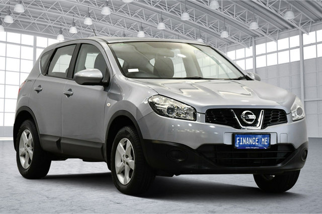 Used Nissan Dualis J10 Series II MY2010 +2 Hatch X-tronic ST Victoria Park, 2012 Nissan Dualis J10 Series II MY2010 +2 Hatch X-tronic ST Grey 6 Speed Constant Variable