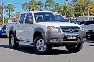 2010 Mazda BT-50 UNY0E4 DX 4x2 White 5 Speed Automatic Utility.