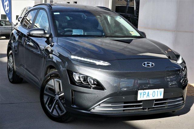 Demo Hyundai Kona OSEV.2 MY20 Highlander Electric SRF Phillip, 2021 Hyundai Kona OSEV.2 MY20 Highlander Electric SRF Dark Knight 1 Speed Automatic Wagon