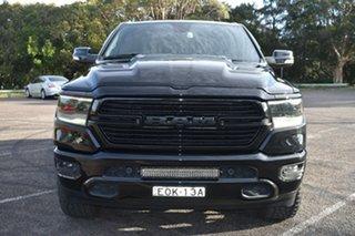 2020 Ram 1500 DT MY21 Laramie SWB RamBox Black 8 Speed Automatic Utility.