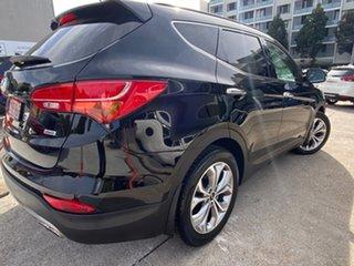 2015 Hyundai Santa Fe DM2 MY15 Highlander Phantom Black 6 Speed Sports Automatic Wagon.