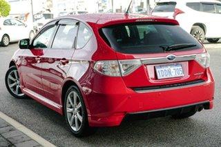 2009 Subaru Impreza G3 MY09 RS AWD Red 4 Speed Sports Automatic Hatchback.