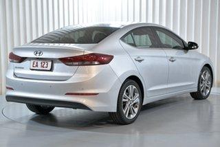 2017 Hyundai Elantra AD MY17 Elite Silver 6 Speed Sports Automatic Sedan