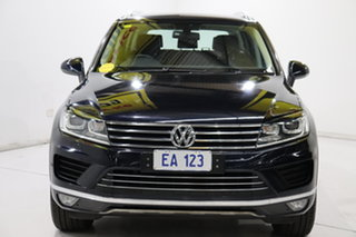 2015 Volkswagen Touareg 7P MY15 150TDI Tiptronic 4MOTION Blue 8 Speed Sports Automatic Wagon.