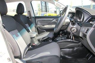 2016 Mitsubishi Triton MQ MY17 GLX Double Cab White Solid 5 Speed Sports Automatic Utility
