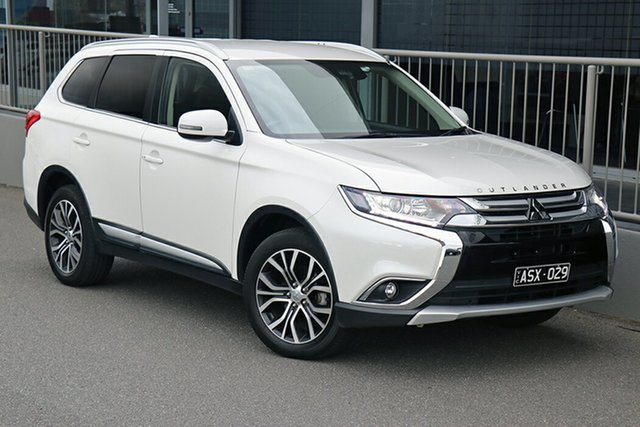 Pre-Owned Mitsubishi Outlander ZL MY18.5 LS AWD Preston, 2018 Mitsubishi Outlander ZL MY18.5 LS AWD White 6 Speed Constant Variable Wagon