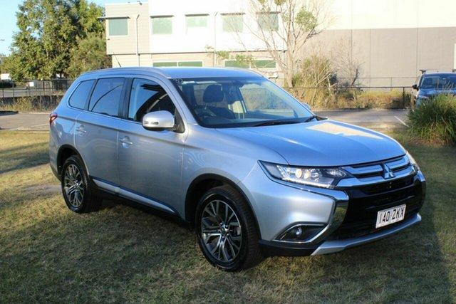 Used Mitsubishi Outlander ZK MY16 XLS 4WD Ormeau, 2015 Mitsubishi Outlander ZK MY16 XLS 4WD Silver 6 Speed Sports Automatic Wagon
