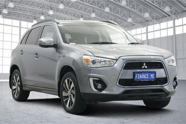 Used Mitsubishi ASX XB MY15 LS Victoria Park, 2015 Mitsubishi ASX XB MY15 LS Titanium 6 Speed Sports Automatic Wagon